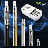 super vapor electronic cigarette new airflow glass clearomizer dual coils