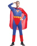 brave superman costume adult cosplay carnival party costume