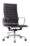 genuine leather aluminium office executive manager chair