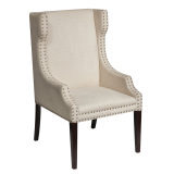 jane european style solid wood dining chair for hotel