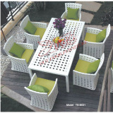leisure rattan outdoor patio garden dining