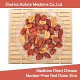 medicine dried chinese nuclear-free red dates slice
