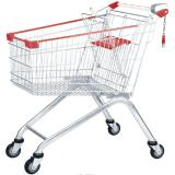 metal store supermarket shopping trolley cart