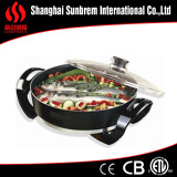 pressing aluminum nonstick electric skillet frying pan kitchen appliance