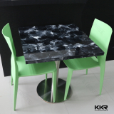 artificial marble solid surface dining table