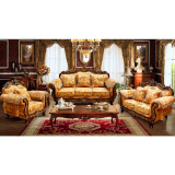 wooden sofa set for living room furniture
