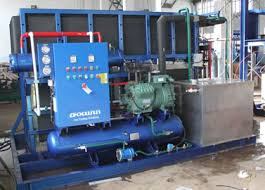 industrial block ice plant for lowing temperature